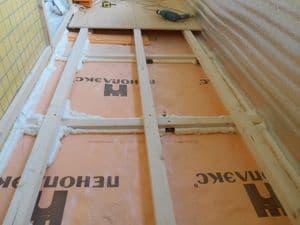 Сбивание бетонного порога б/блока