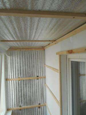 Шумо-гидроизоляция крыши